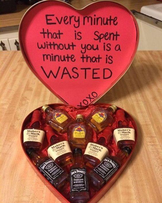 Liquor heart box.