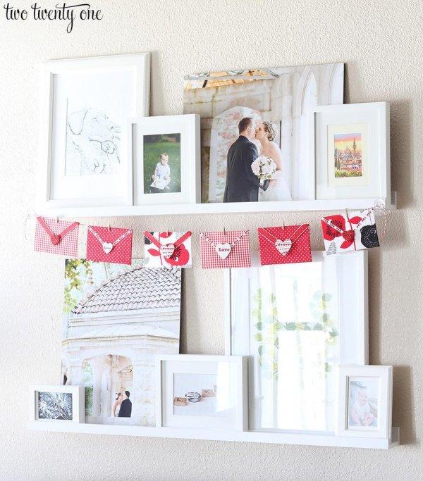 Love letter Valentine's day garland.
