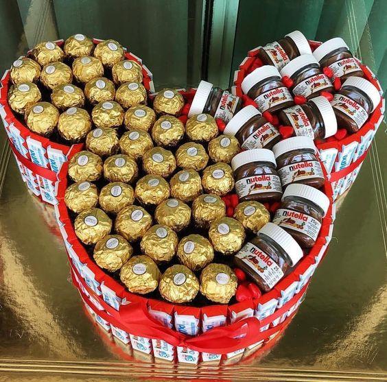 Nutella and Ferrero Rocher Gift.