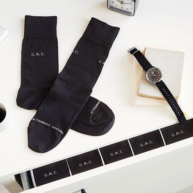 Personalized socks.