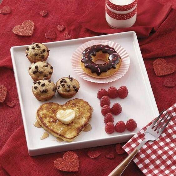 Plan a meaningful breakfast.