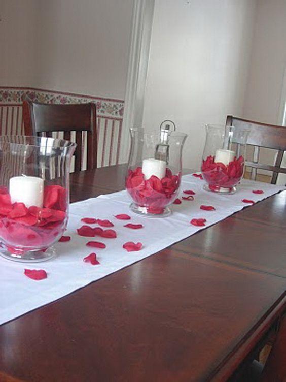 Quick table decoration idea.