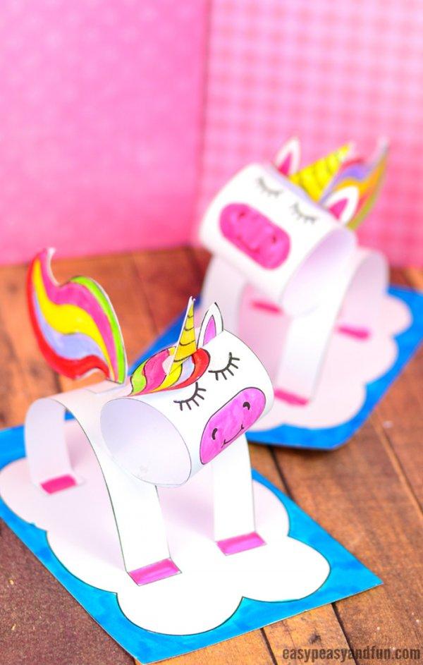 Unicorn craft for kids.