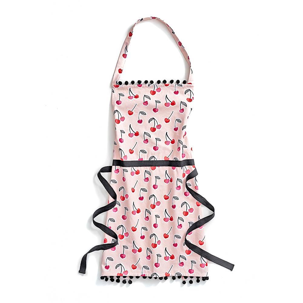 Fabulous cherry print apron.