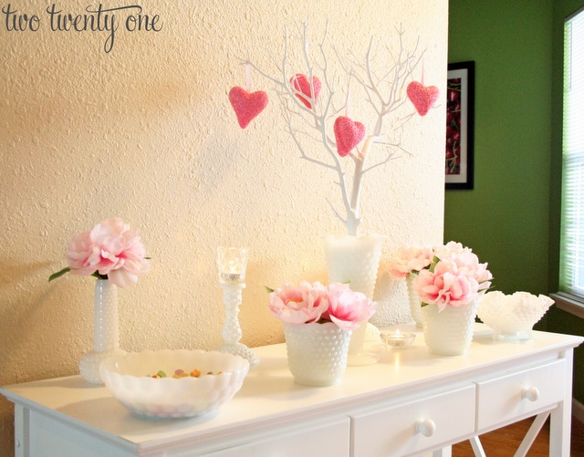 Fabulous pink theme home decor.