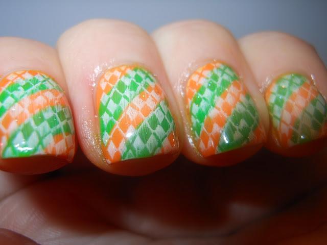 Irish nails.