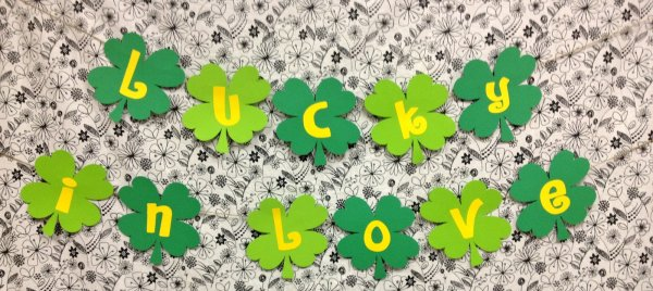 Lovely St. Patricks day banner.