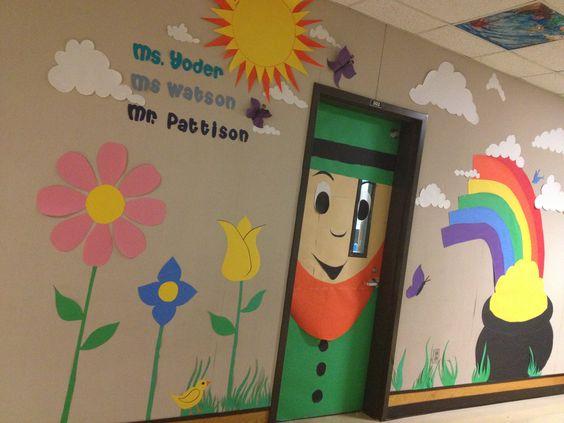 Nice classroom wall decor.