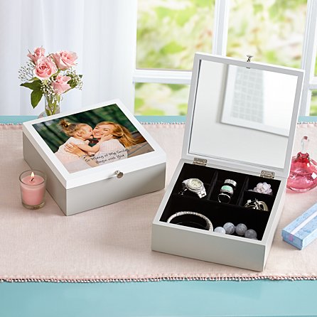 Picture perfect jewelry box.
