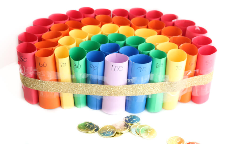 Rainbow coin toss games.