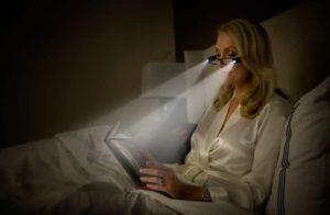 Reading light glasses for book lover.
