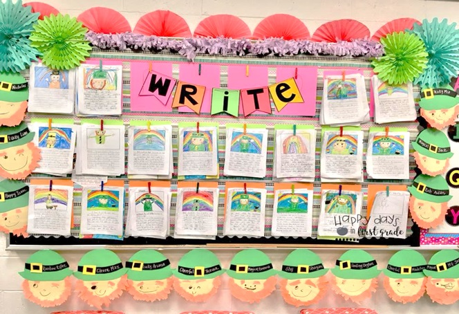 Reading Classroom Decor ~ Classroom décor ideas for st patrick s day to stream in