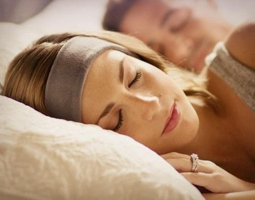 Sleeping band headphone.