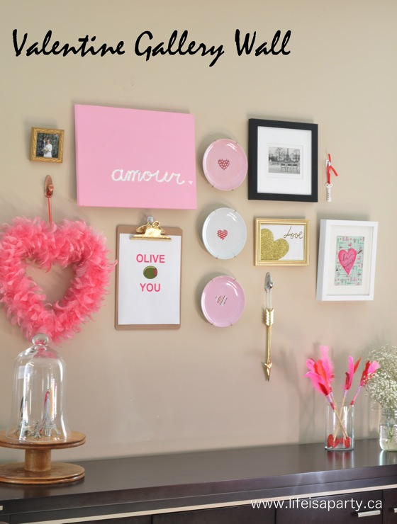 Wonderful Valentine's day wall decor.