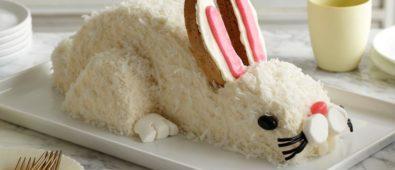 Yummy easter bunny cake.