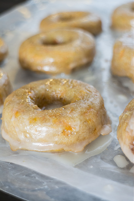 Carrot cake donuts.