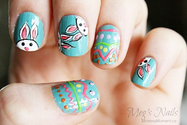 Cool Easter Nails.