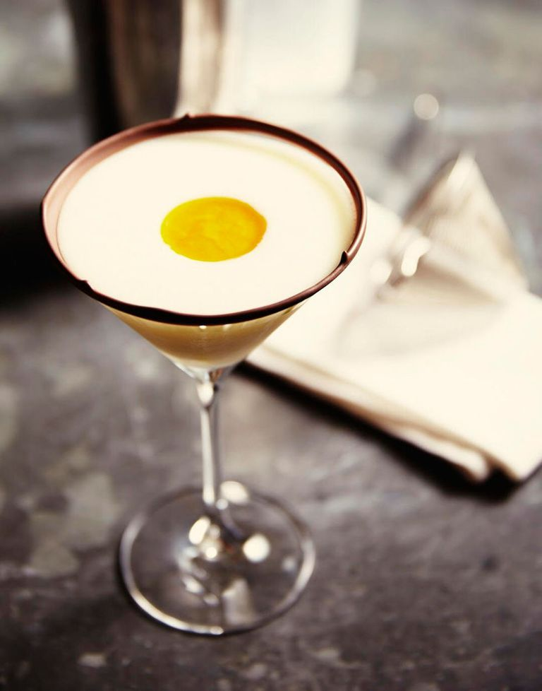 Creme egg cocktail.