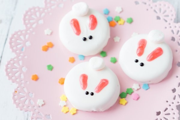 Cute bunny cookies.
