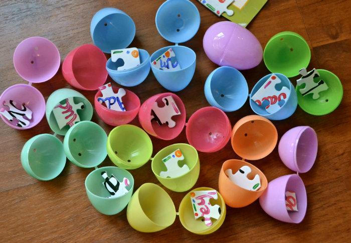 Easter egg puzzle hunt.