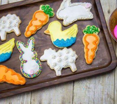 Nice Easter sugar cookies.