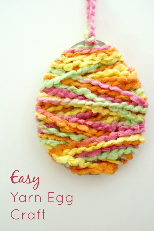 Simple and cute Easter egg craft.