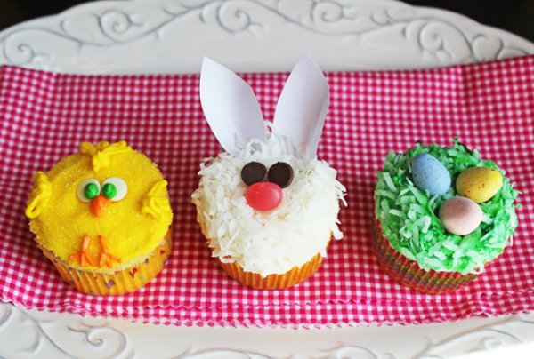 Cute cupcakes for Easter.