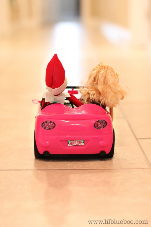Busy on date with barbie.