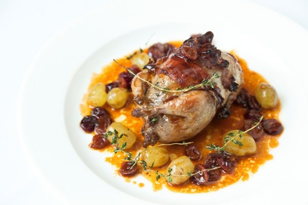 Christmas quail recipe.