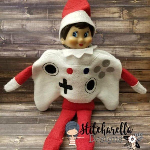 Cute game controller elf costume.
