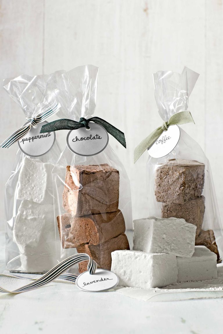 Flavored gourmet marshmallows.