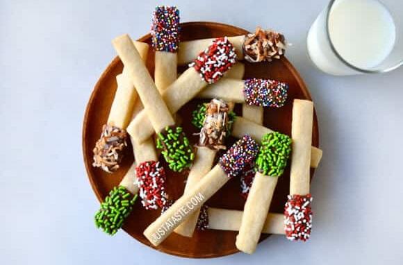 Latest sprinkles sugar cookie sticks.
