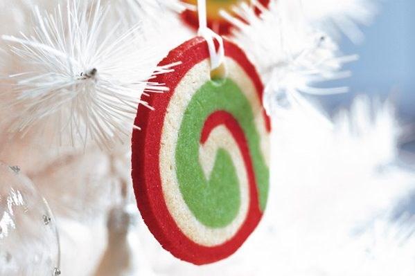 Pinwheels Christmas cookies.