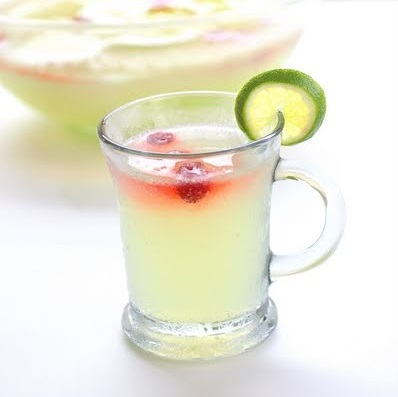 Limeade punch.