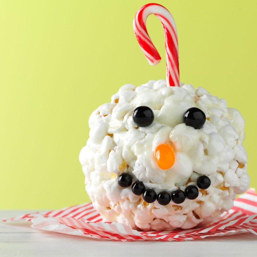 Ornament popcorn ball.