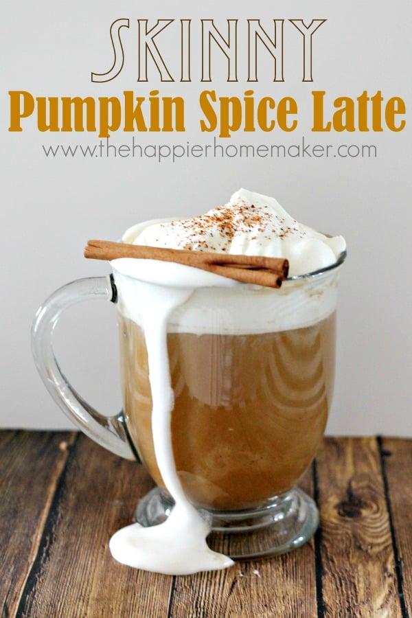 Skinny pumpkin spice latte.