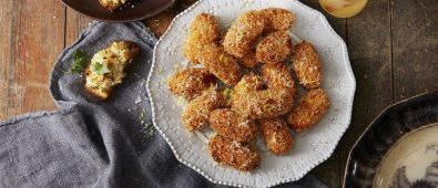 Sweet potato croquettes.