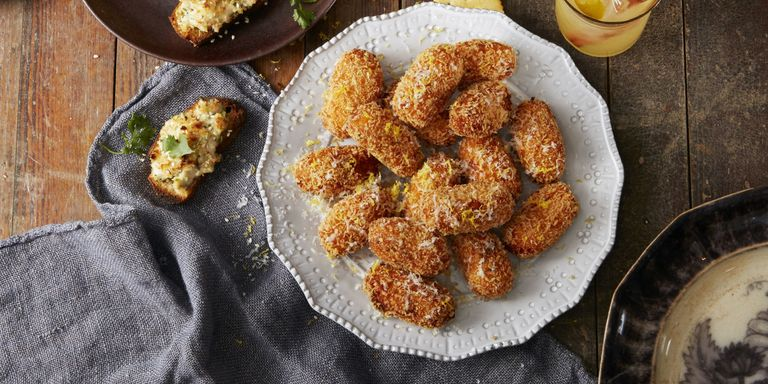 Sweet potato croquettes.