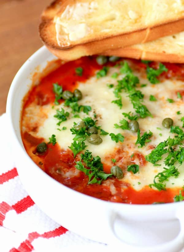 Eggs in Purgatory.