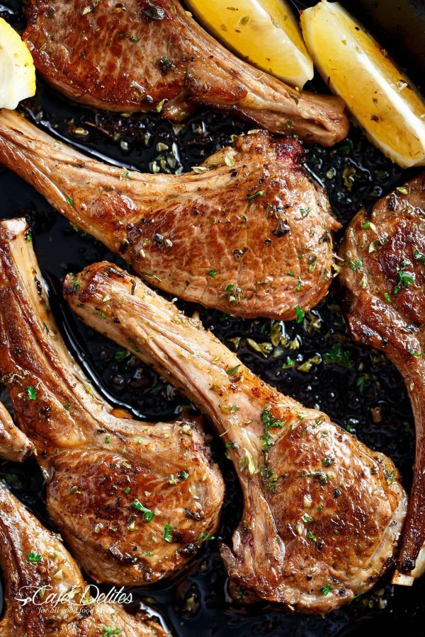 Greek lamb chops.