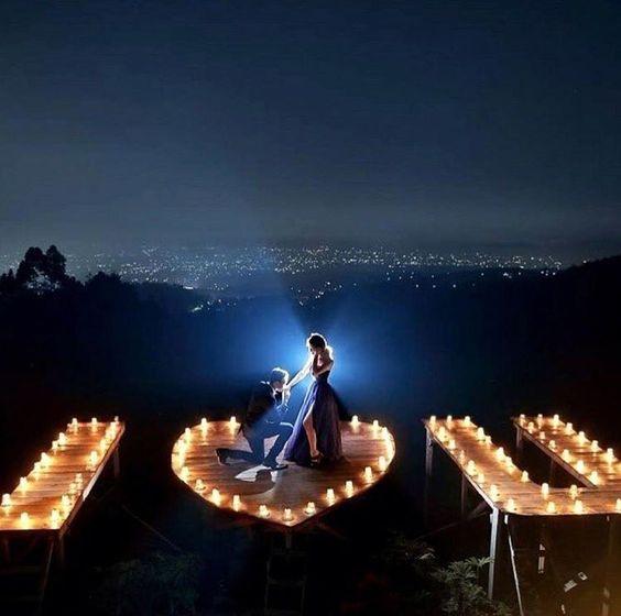 Spend romantic evening.