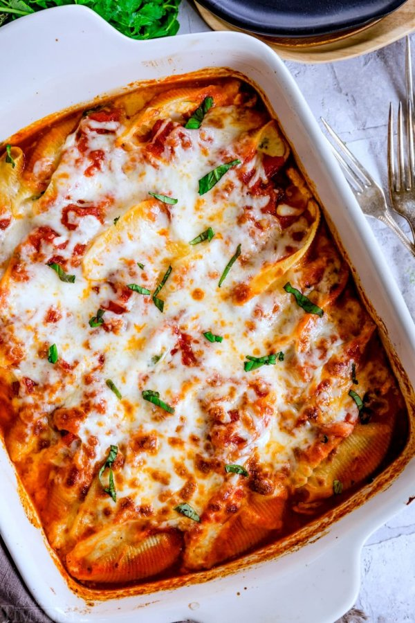 Stuffed shells.