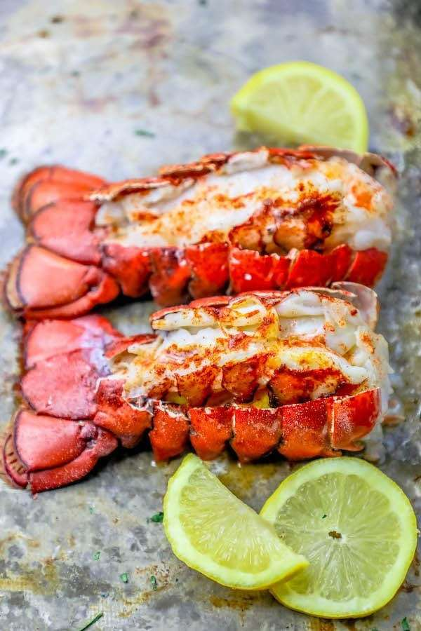 The Best Easy Broiled Lobster Tails Recipe.