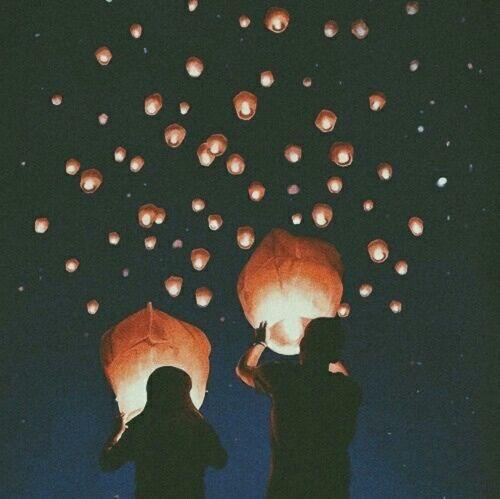 Through away hot air balloons.