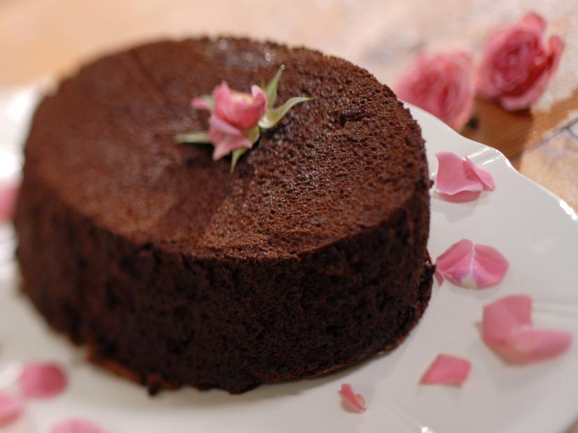 Chocolate cream cake.